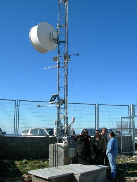 Antena de comunicacions de l'OAdM