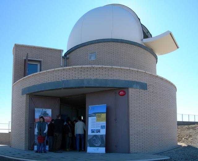 Entrada a l'Observatori