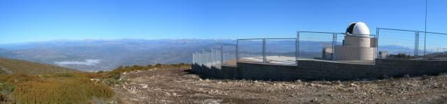 Panoràmica des del Montsec