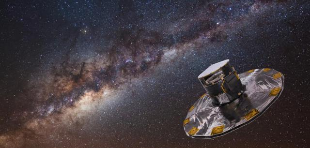 Gaia: El satèl·lit Gaia observarà més de mil milions d'estels durant cinc anys mitjançant més de cent càmeres de 9 megapíxels cadascuna. S'estima que enviarà vora 100TB de dades a la Terra, des d'una distància de 1.5 milions de quilòmetres